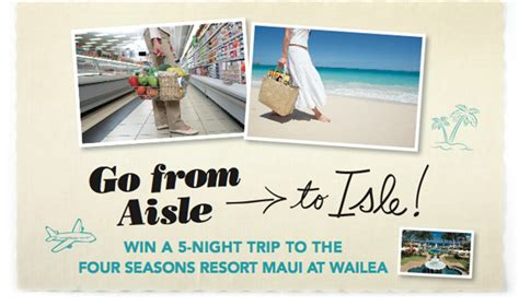 Rachael Ray Magazine Sweepstakes - win a trip to maui aisle to isle sweepstakes from rachael ray magazine