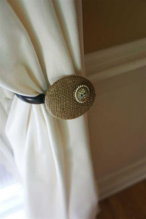 burlap curtain tie backs 17 best images about curtains on pinterest window