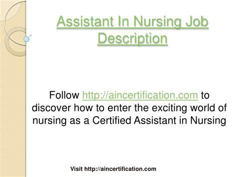 Restorative Nursing Assistant Description by Nursing Assistant Description Certified Nursing Assistant Sle Resume Sle Cna