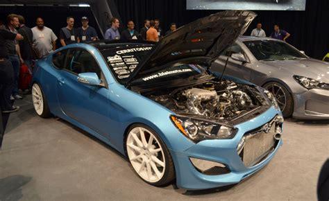 bisimoto genesis coupe 1 000 hp hyundai genesis coupe headlines hyundai sema