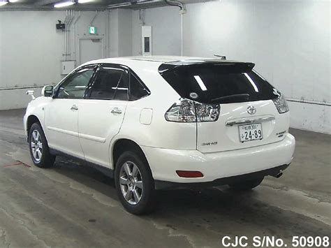 toyota harrier 2008 2008 toyota harrier pearl for sale stock no 50908