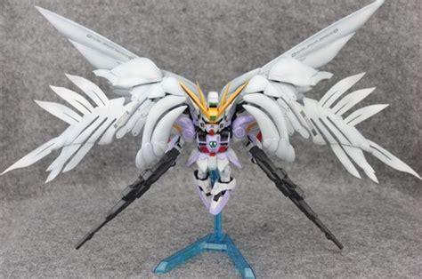 Sd Wing Zero Custom Gundam New Mib Endless Waltz Yolly g work of the day sd wing gundam zero custom no 19 big