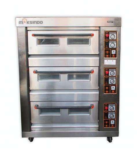 Oven Gas Kapasitas Besar mesin oven roti gas 6 loyang mks rs36 toko mesin maksindo toko mesin maksindo