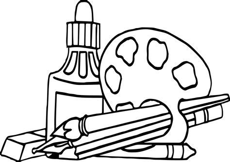 coloring supplies nap supplies coloring page wecoloringpage