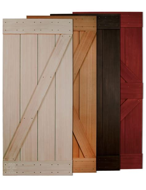 Real Barn Doors Hardware Cedar And Doors On