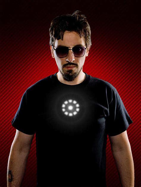 Tony Stark Tshirt comic book reactor shirts tony stark t shirt