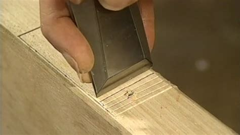 How To Mortise A Door by How To Cut Mortises For Door Hinges With A Chisel Today
