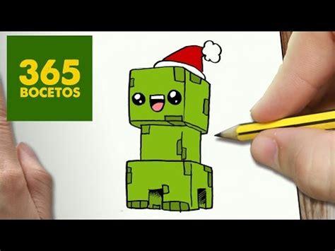 imagenes kawaii de minecraft como dibujar un creeper de minecraft navide 241 o