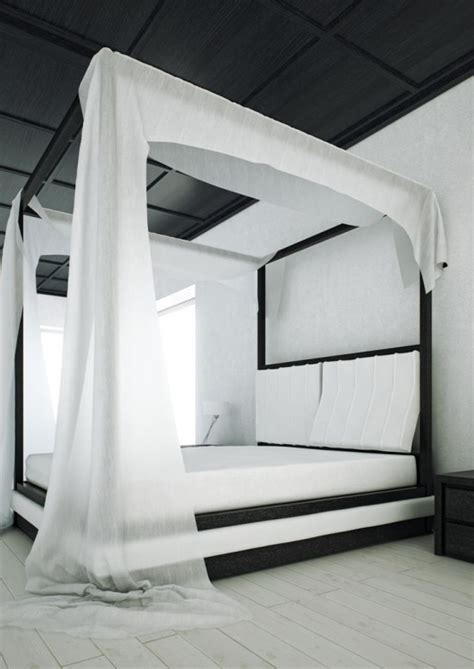 wind curtain for canopy the sumptuous and elegant wind canopy bed from mazzali