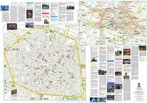 map of italy bologna bologna tourist map