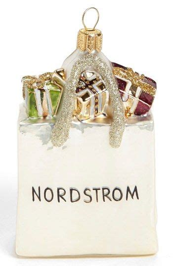 nordstrom at home shopping bag ornament available at
