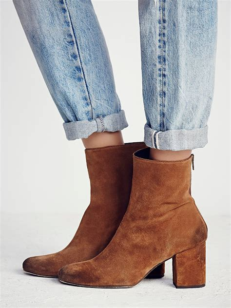 free ankle boots free world tour ankle boot in brown lyst