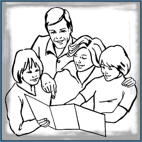 Imagenes Para Dibujar La Familia | entretenidas imagenes para dibujar de la familia