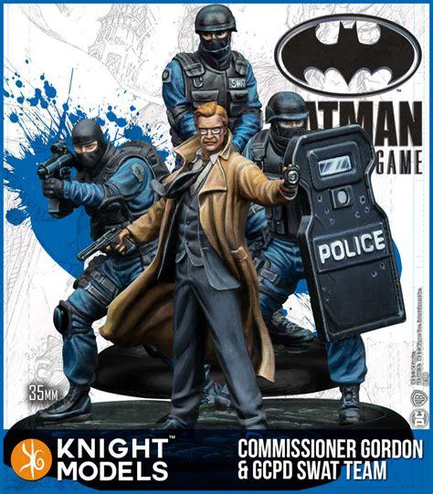 Kaos Gcpd Gotham City Heroes commissioner gordon gcpd swat team models