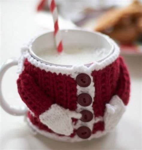 christmas knitted cozy free crochet patterns all the best ideas