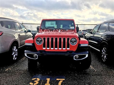 Jeep Rubicon Msrp by 2018 Jeep Wrangler Jlu Msrp Price Shown On Window