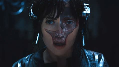 film ghost vidio ghost in the shell 2017 official trailer 2 ign video