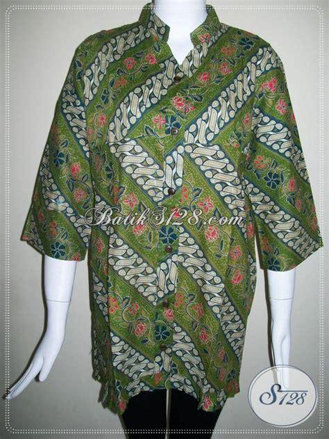 Kain Batik Print Modern Parang Bunga jual aneka batik bagus harga terjangkau sedia juga
