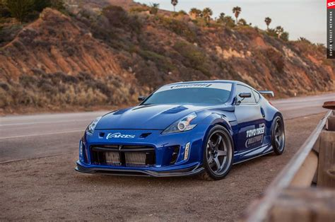 blue nissan 370z nissan 370z modified blue pixshark com images
