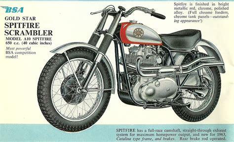 1968 bsa spitfire motorcycles wiring diagrams repair