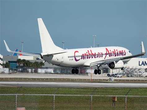 caribbean airlines beginning cargo ops  curacao air