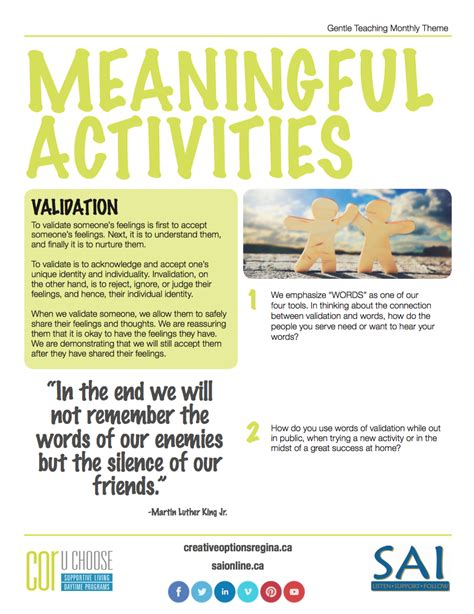 meaningful themes for events gentle teaching theme for september 2016 meaningful
