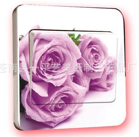 Stiker Motif 5 jual stiker tombol saklar lu motif 5 kuntum mawar