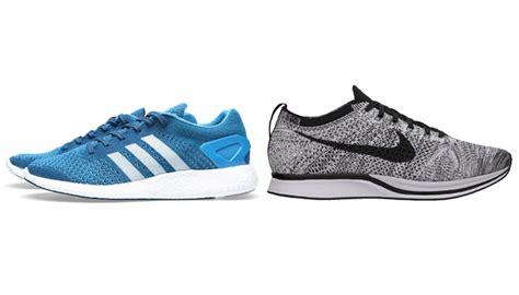 Adidas Flyknit Boost adidas boost vs nike flyknit