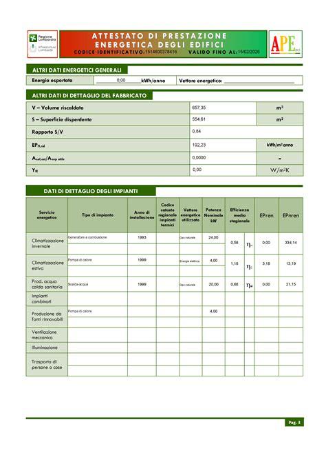 certificazione energetica capannone certificazione energetica degli edifici