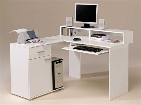 Computer Desks White White Computer Desk For Home Office Review And Photo