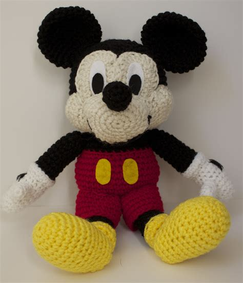 minnie mouse doll knitting pattern handmade by meg k crocheted mickey mouse pattern review