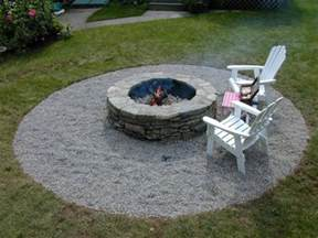 Firepit In Backyard How To Build A Pit Diy Pit How Tos Diy