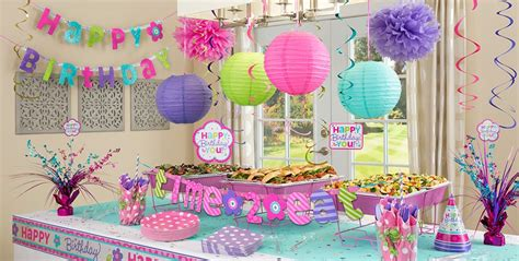 city decorations pastel birthday supplies city
