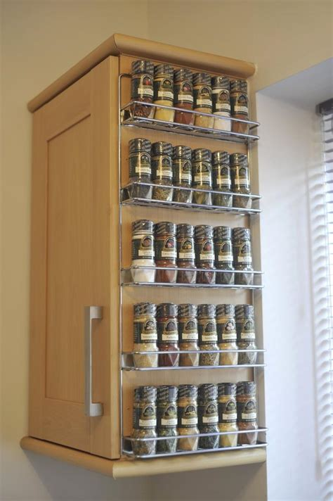 kitchen spice racks for cabinets home storage ideas for every room