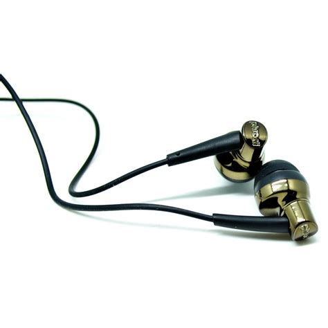 Sale Phrodi 007p Earphone With Microphone Pod 007p phrodi 007p earphone dengan mic pod 007p chagne gold