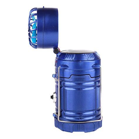Lu Emergency Solar Light cing lantern telescopic led solar light emergency flashlight with fan ebay