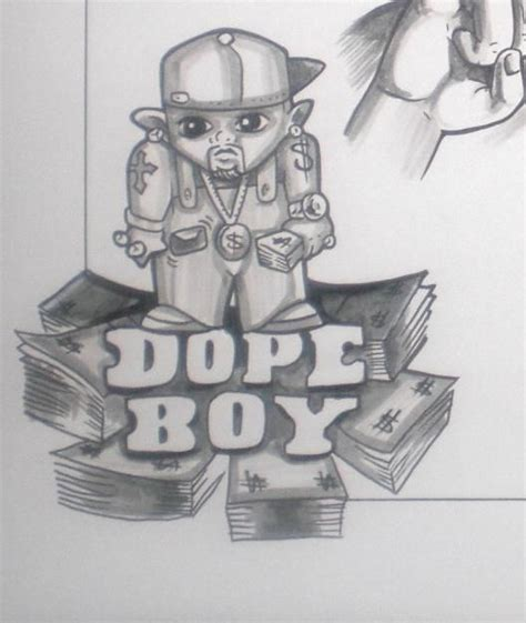 dope boy tattoos 40 best dope sketches images on design