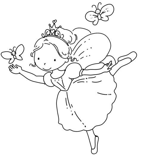 cute ballerina coloring pages ballerina fairy 2 coloring pages pinterest coloring