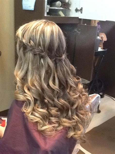 cascade braid hair great formal hair style