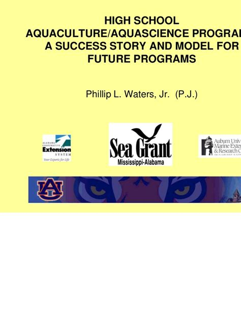 it takes a school the extraordinary success story that is changing a nation books high school succes stories aquaculture program