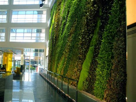 story atrium living wall greenroofscom