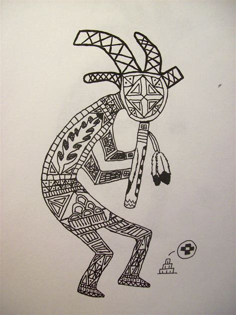 sw tattoo designs kokopelli design by mentallyinsanepyress on deviantart