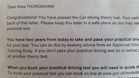 Dvla Acknowledgement Letter Not Received The Anatomy Of The Uk Driving Theory Test 15 Things You Need To To Pass