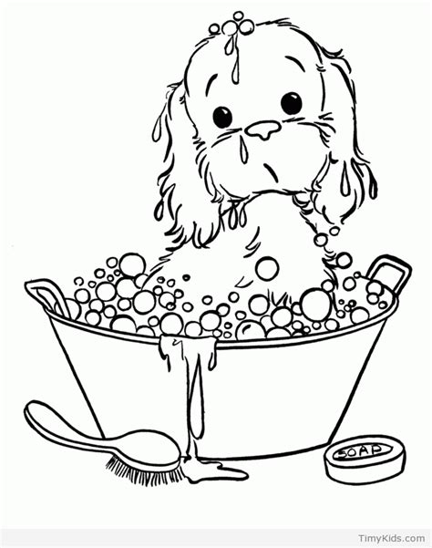 print out coloring pages of puppies 30 puppy coloring pages timykids