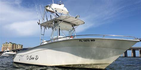 boat captain school destin shark charters deep sea fishing o sea d charters