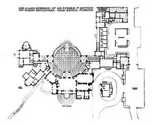 Historic Colonial House Plans mar a lago estate palm beach fl historic details