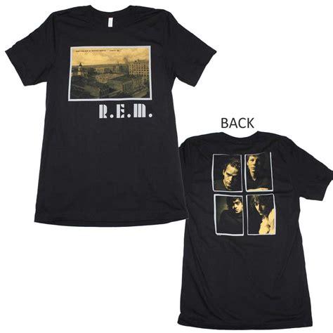Tshirt R E M r e m t shirt r e m athens postcard t shirt