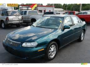 1999 jade green metallic chevrolet malibu ls sedan