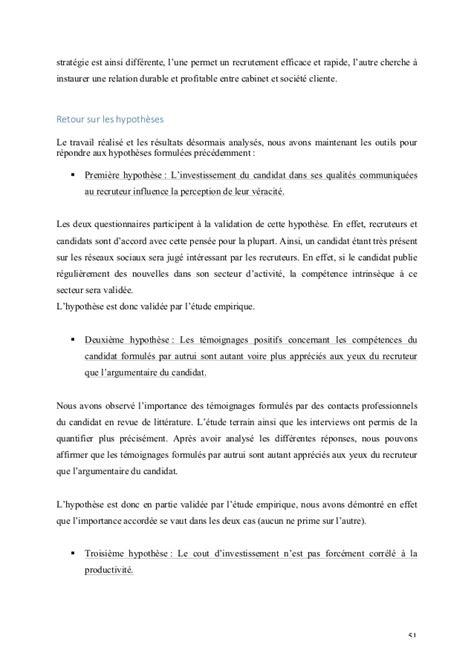 Cabinet De Recrutement Secteur by Le Secteur Du Recrutement 171 Vers Une Information Parfaite