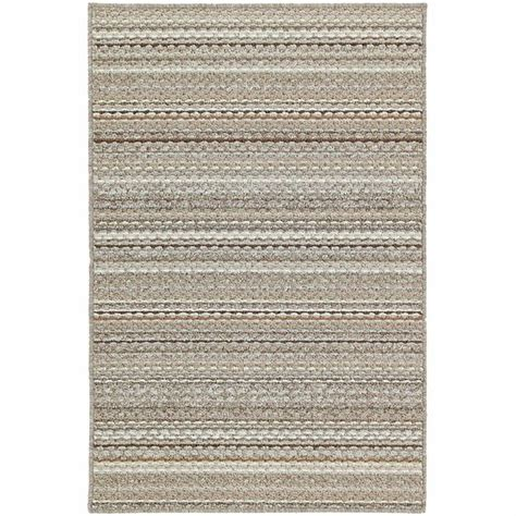 Garland Rug Carnival Stripe Earthtone 4 Ft X 6 Ft Area 6 Foot Rugs